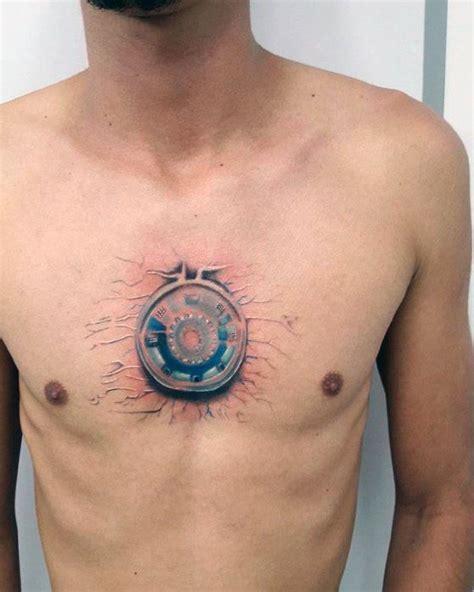 realistic iron man tattoo golfiancom