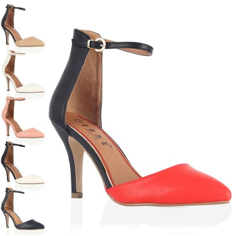 pointed high heels with ankle straps pointed toe heels with ankle heels me