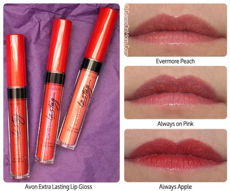 Lip Gloss Giveaway - avon extra lasting lip gloss and mega effects mascara giveaway game on mom