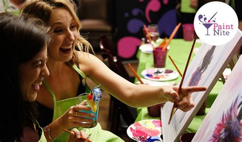 groupon paint nite groupon paint nite event for 25