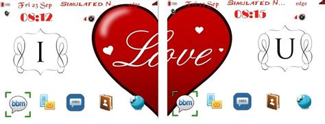themes i love u download theme i love u for u and your girl friend blackberry