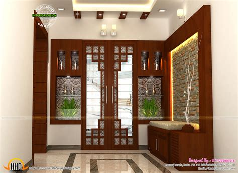 new house interiors interior decors by r it designers kerala home design and