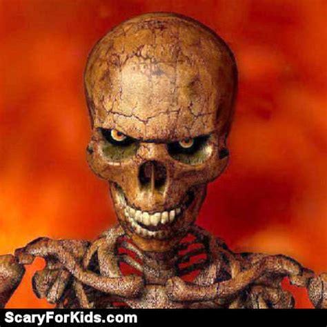 Evil Skull evil skulls scary pictures scary website