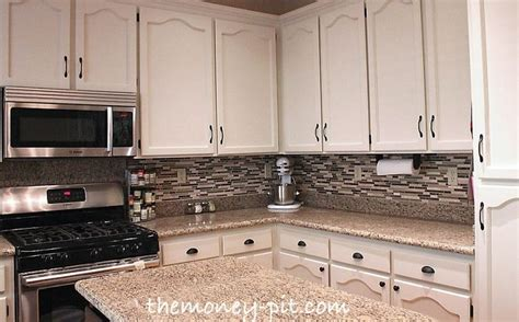 modernizing oak kitchen cabinets modernizing an 80 s oak kitchen diy