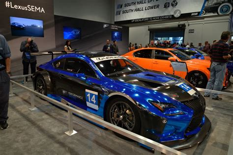 lexus sema 2016 image f performance racing 2016 lexus rc f gt3 race car