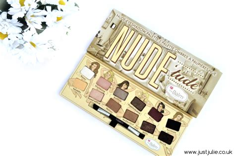 Thebalm Tude Palette all about thebalm tude palette justjulie