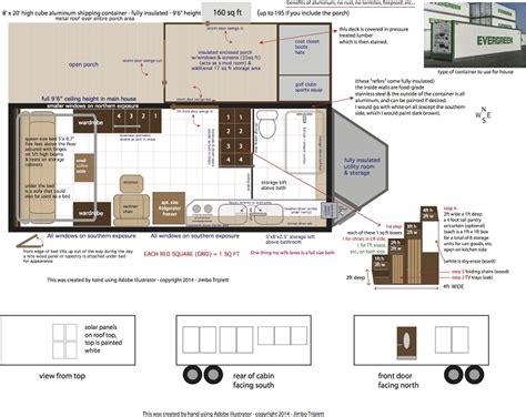 Bank Floor Plan Permanent jim triplett aluminum cargo container house simple solar
