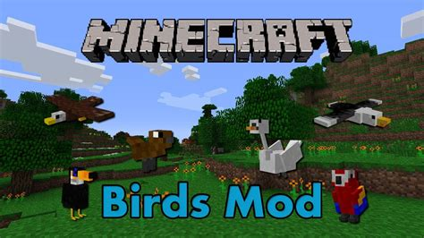 minecraft pe mods android birds mod на minecraft pe на android 0 14 0