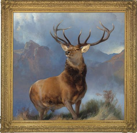 the monarch of the landseer s the monarch of the glen to star in london christie s