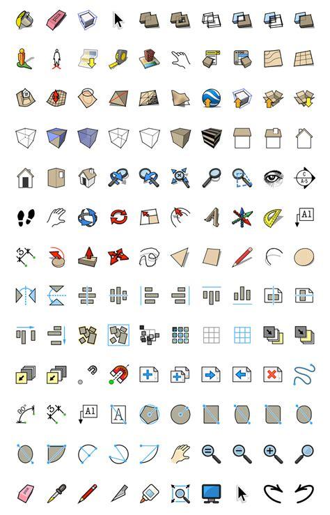 sketchup layout material symbols image gallery sketchup symbols