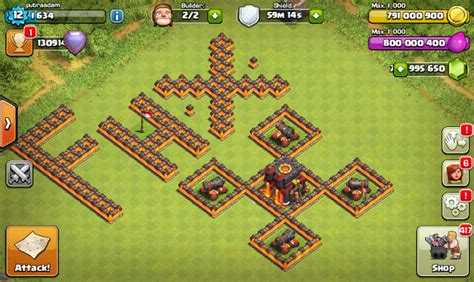 download game mod clash of clans versi 7 200 19 download clash of clans fhx v8 mod apk th 11 update