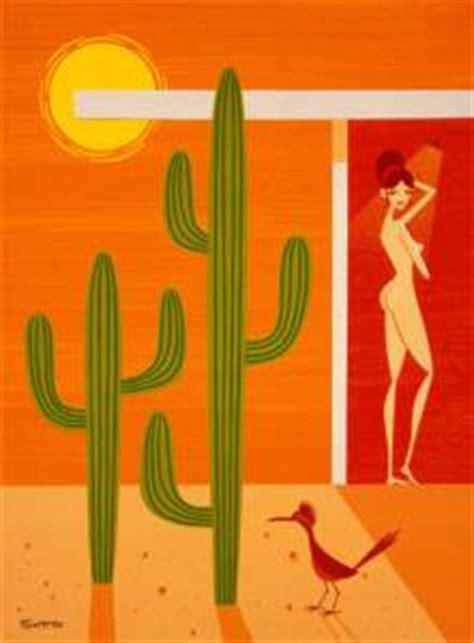 Shower Shag by Desert Shower Print Release By Shag Aka Josh Agle