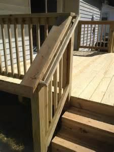 deck stair handrails deck designs deck handrail designs stairs