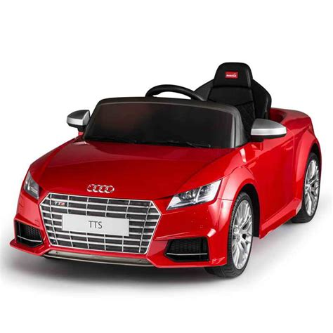 Auto Elektronik by 12v Audi Tts Roadster Rot Kinder Elektro Auto Kinderauto