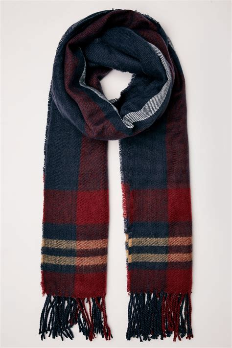 Buy Gift Cards With Checking Account - navy red check oversized blanket scarf with tassels