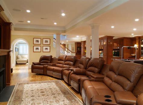 House Design with Basement Lighting : Modern Stunning
