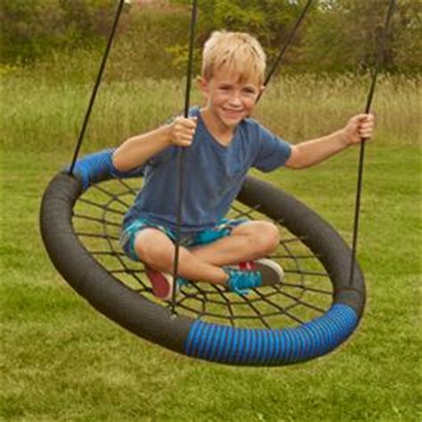 swing sets adults can use com swing n slide monster web swing toys games