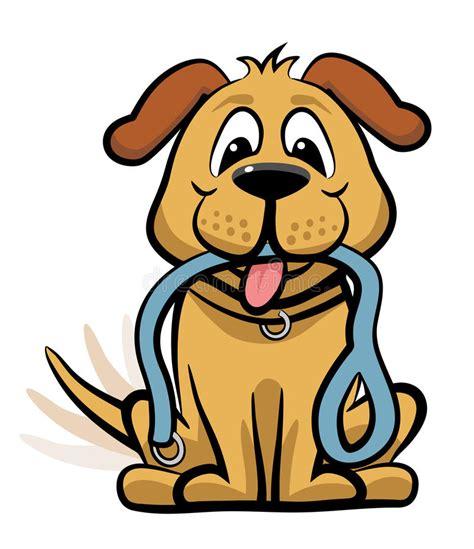 clipart cani aspetta per camminare clipart illustrazione