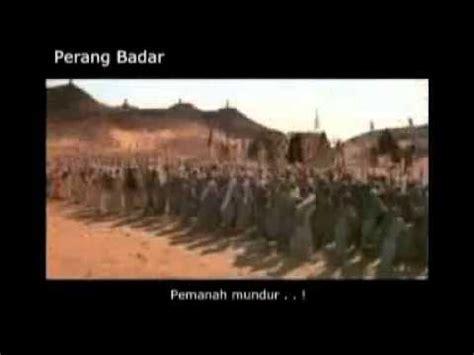 Film Perang Badar   perang badar al kubro youtube