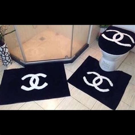 chanel bathroom chanel home accessories chanel bathroom set 3 shower