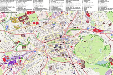 printable maps edinburgh city maps edinburgh