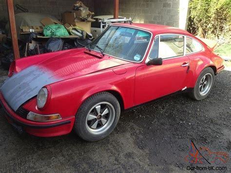 Porsche For Restoration For Sale by 1968 Porsche 911 Rhd Barn Find For Restoration