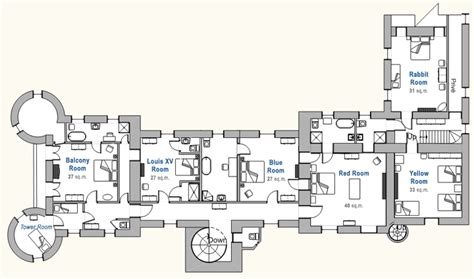 chateau du pin floor floor plan