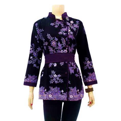 Blus 03 Atasan Wanita Muslim Blus Murah blus batik wanita muslim modern terbaru baju batik