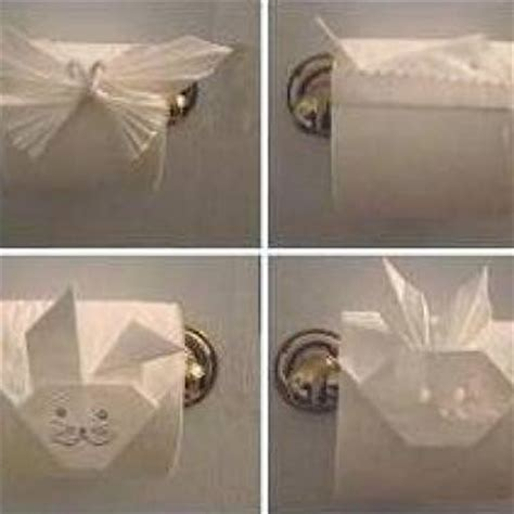 Toilet Paper Roll Origami - toilet paper origami the bathroom tip junkie