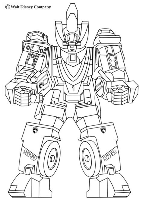 power rangers in space coloring pages robot coloring pages hellokids com