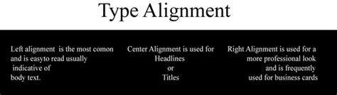 typography alignment typography essentials a getting started guide