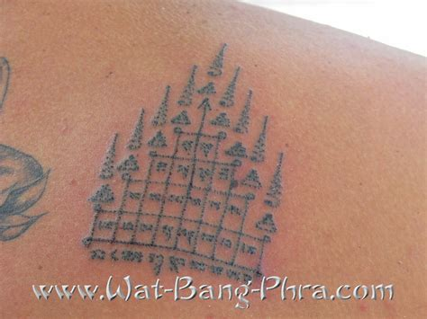 yantra tattoo traditional magic tattoos sak yant