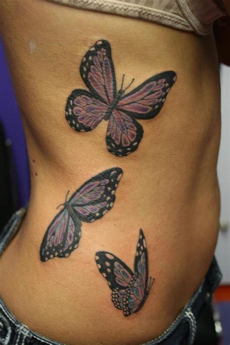 butterfly kitten tattoo butterfly trio by cat johnson tattoonow