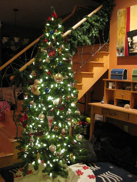 the making of my christmas tree at home with kim vallee