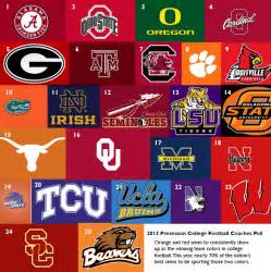 college colors college football teams and colors myideasbedroom