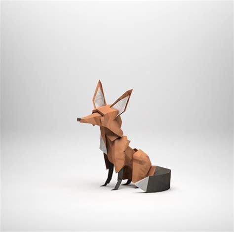 3d Origami Animals -