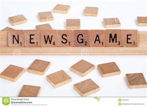 spell scrabble words scrabble tiles spell out newsgame stock image image