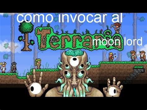 imagenes realistas de terraria terraria como invocar al moon lord youtube