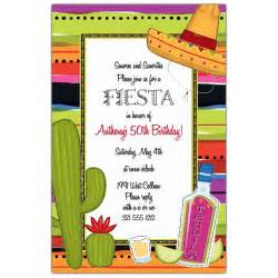 tequila and lime fiesta birthday invitations paperstyle