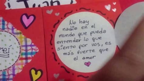 regalos para el dia de san valentin tarjeta carta infinita regalo para novio presente de