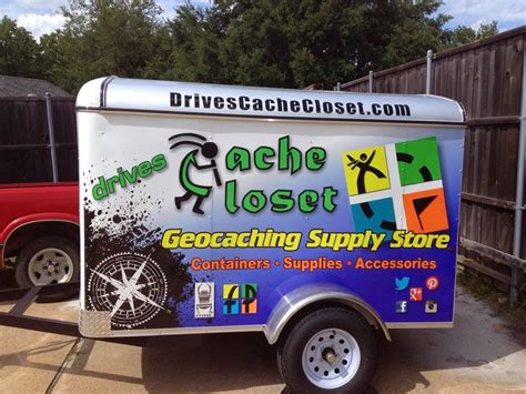 Drives Cache Closet an with geocaching retailer drives cache closet