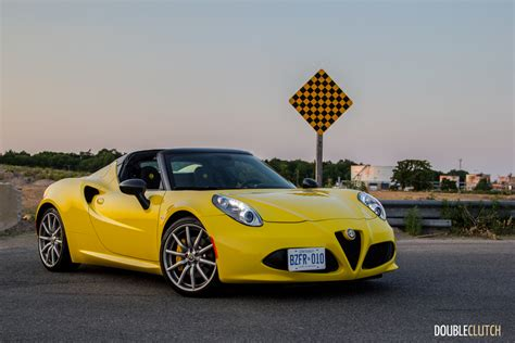 How Much Is The Alfa Romeo 4c by 2017 Alfa Romeo 4c Spider Review Doubleclutch Ca