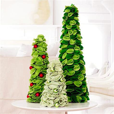 how to make christmas tree decorations at home christmas crafting ideas for decorating the table done