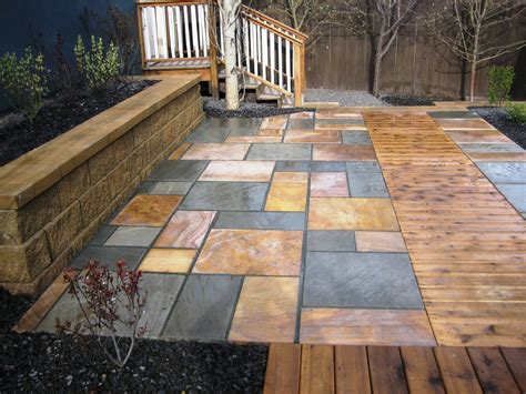 stone for backyard 12 amazing stone patio designs perfect for a home