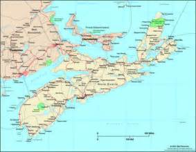 map of eastern canada and scotia scotia canada political wall map maps