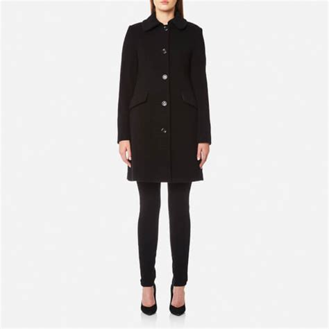 Moschino Coat moschino s coat with ring detail on back