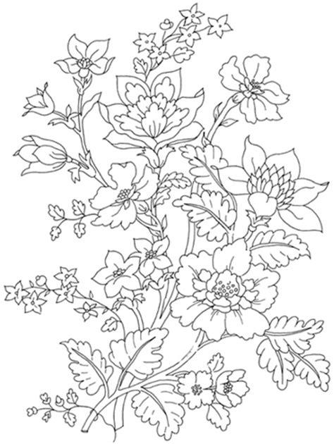 disegni di fiori da ricamare disegno da ricamare ramo fiori e fiorellini magiedifilo