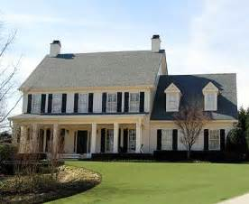 front porches on colonial homes colonial style homes on pinterest colonial house plans colonial revival architecture and