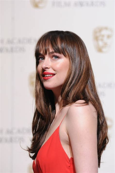 how to get bangs like dakota johnson 17 best ideas about dakota johnson hair on pinterest