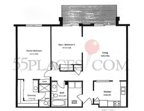 heather gardens floor plans 1200 floorplan 1200 sq ft heather gardens 55places com